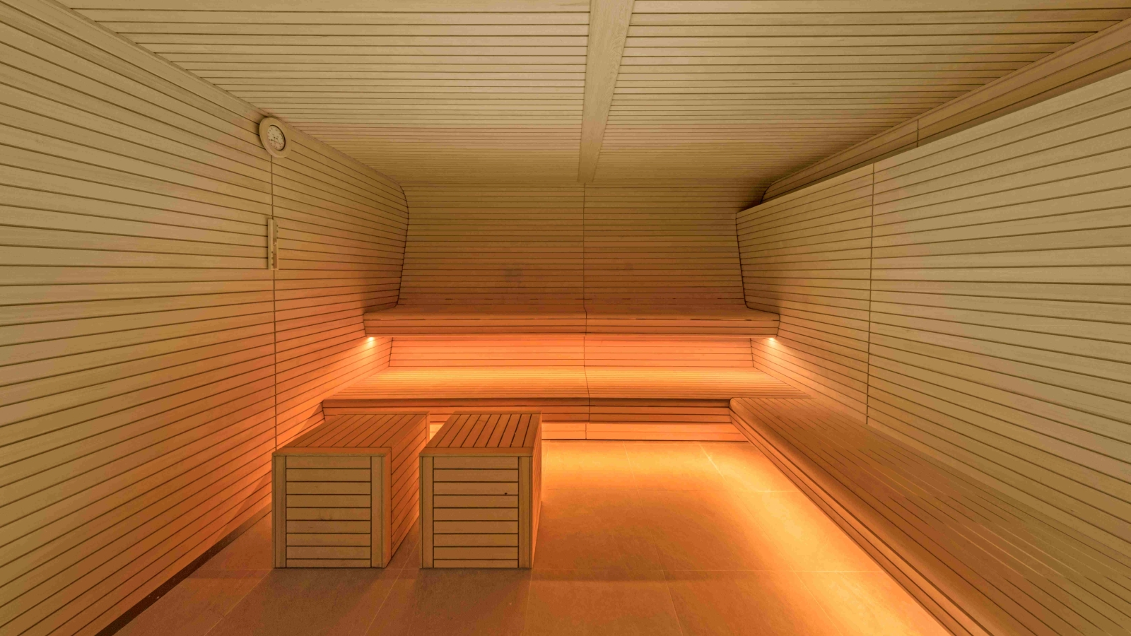 New Getway Sauna at Bliss Spa W Barcelona