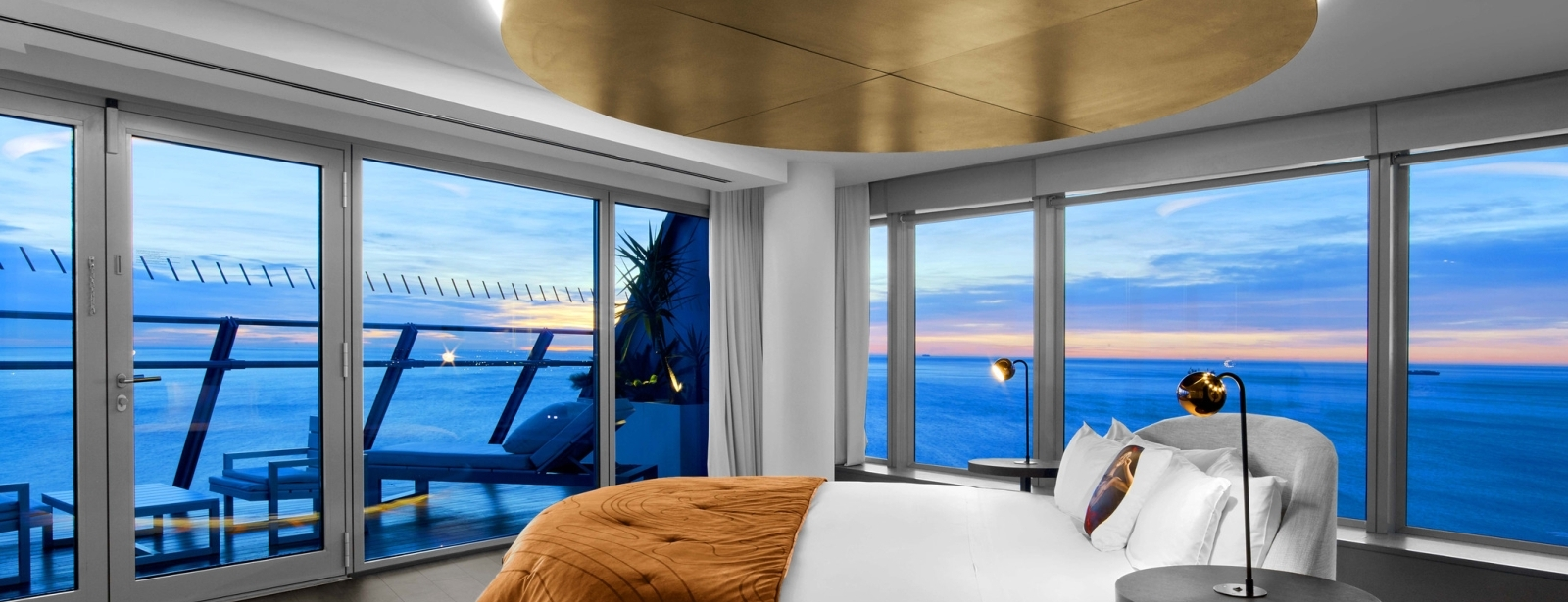 Luxury WOW Suite Bedroom at W Barcelona