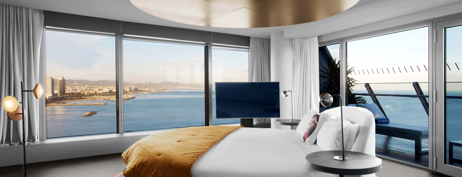 Stay in the WOW Suite at hotel W Barcelona