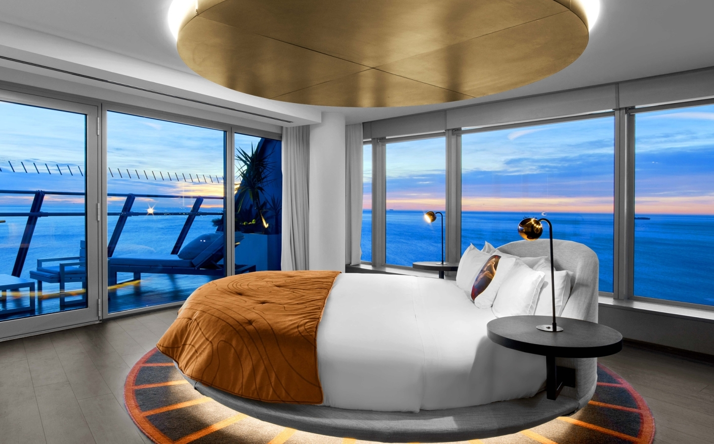 luxurious blue bedrooms great character light. Luxurious Blue Bedrooms Great Character Light. Luxury Wow Suite Bedroom At W Barcelona Light U